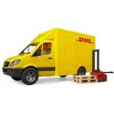 Bruder  MB Sprinter DHL tõstukiga 02534