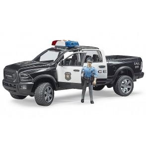 Bruder RAM 2500 politseiauto koos politseinikuga, 02505