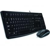 Logitech mk120 juhtmega klaviatuur ja hiir