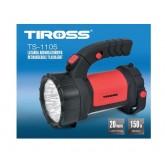 Tiross TS-1105 laetav kandelamp, 12+15LED