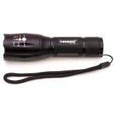Tiross TS-1151 laetav taskulamp CREE-XML T6/10W LED kinkekarbis